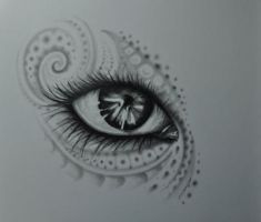 eye by tattoomary
