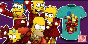 Iron Simpsons by Wenart
