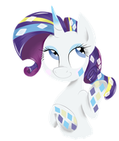 Rainbow Power - Rarity by RockfordRedsocks