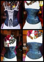 corset semi overbust by Miyou-illustration