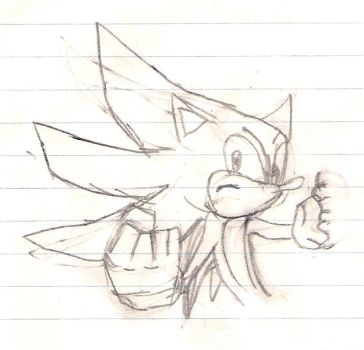 super sonic sketch by ssth2000