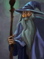 Gandalf by ivygreane