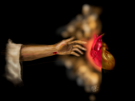 The only heart changer (iPad finger painting) by chaseroflight
