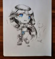 Chibi Sivir by Lighane