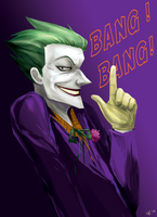 Joker BANG BANG by d00li