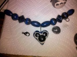 Mickey Head Necklace by souffle-etc