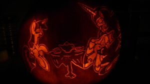 Nuit Lunaire Pumpkin Carving by Originalham