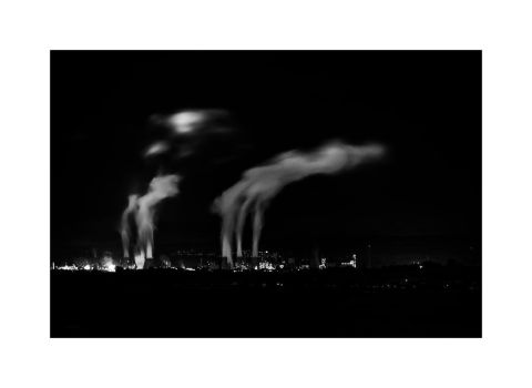 Night time Chimneys by Dr-Koesters