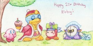 Happy 21st Birthday Kirby by Chenanigans