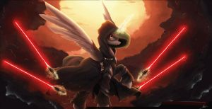 Sith Celestia Redux (animated) by TheShadowscale