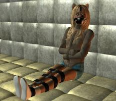 Kidnapped Cody, Padded Prison by wynter333A