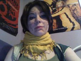Merrill wig and makeup test by TaliBelle-Cosplay