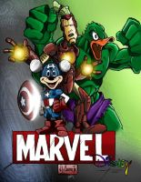Marvel - Disney by JeffieB