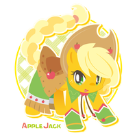 Applejack by inano2009