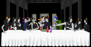 The Last Supper Slime by Renathory