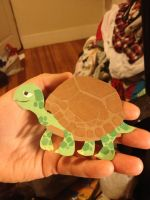 Tort the Tortoise - Construction Paper by GopherFrog