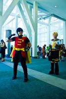 AX 2011: Len meets his Idol by anthenii-san