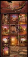 Old Egypt backgrounds by moonchild-ljilja