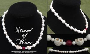 The Samhain Collection: Strand of Bone by witchcraftywolfen