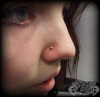 Nose by state-of-art-tattoo