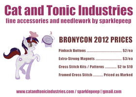 Sign for BronyCon 2012 by sparklepeep