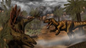 Jurassic Thunderstorm by MicrocosmicEcology