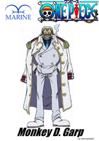 Monkey D. Garp by sturmsoldat1
