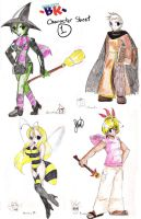BK: Character Redesign Sheet 1 by anime-dragon-tamer