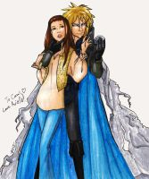 Labyrinth Jareth and Sarah by R2ninjaturtle