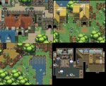 Fantasy Jrpg Tileset work by weremole