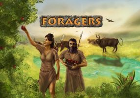 Foragers box art and logo by Erebus-art