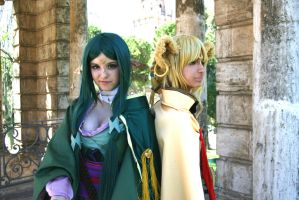 Lady Sakuya and Alicia Rue II- Alfheim Online by KasumiVI