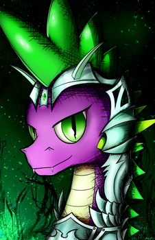 Armor Spike by flamevulture17