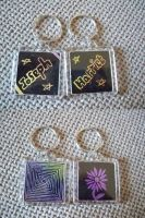 Joseph's and Harriet's Keyrings by Kat2805