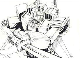 TFOC: Blade's Blade lineart by beamer