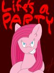 Life's a PARTY-Pinkamena by SuperCyclonePro