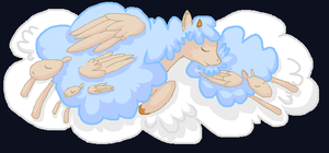 sleepin' sheepin' by iFerneh