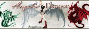Angelic Dragon Sig Tag by Cheshire-Angel