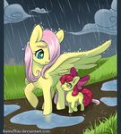 Thanks, Fluttershy by SatraThai