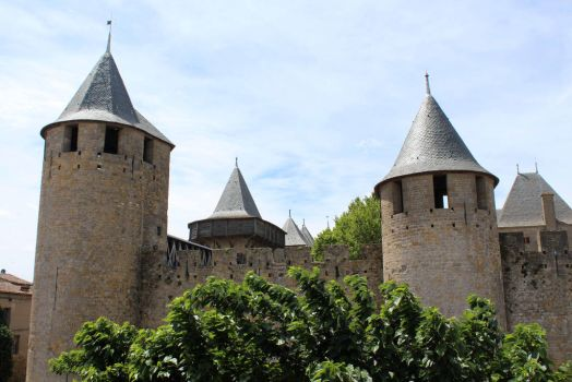 Carcassonne XI - Le Chateau by Scipia