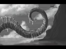 SpeedPainting 3 - The tentacle by xpsam