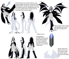 Abyss ref sheet by Kai-Chronaius