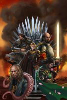 The War of Five King by zippo514