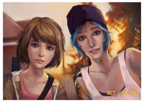 Selfie Expression - Life is Strange by GreyRadian