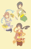 AtLA OC Sketches by TheChicEffect