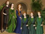 Merida and her family by TFfan234