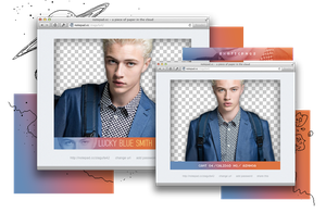 Pack Png 996 // Lucky Blue Smith by ExoticPngs