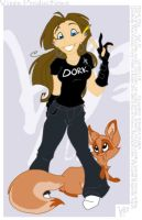 The Dork and the Fox by espie