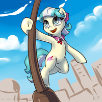 Speedpaint 37 - Coco Pommel by KP-ShadowSquirrel