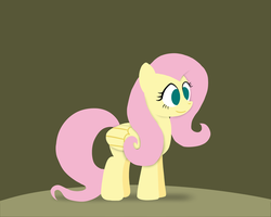 Paper-like Fluttershy by postcrusade